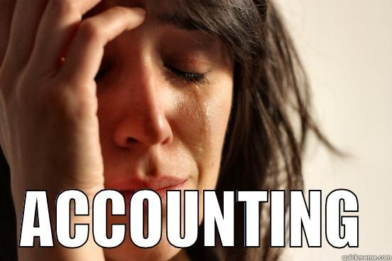 accounting headaches