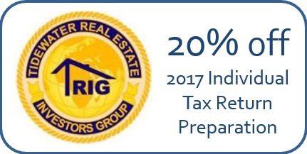 Virginia Beach Tax Preparation Real Estate Discount3